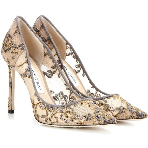 Lace pumps, Jimmy choo shoes