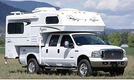 Truck Campers The 1500 Series Truck Camper Available In Both
