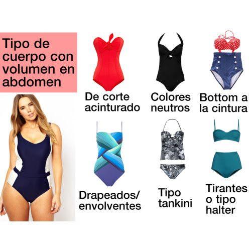 Traje de baño para tipo de cuerpo con sobrepeso | playa | Pinterest ...