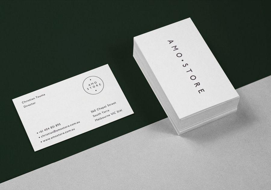 Amo Store by designed Studio SP–GD | Shoe boutique, Business cards ...