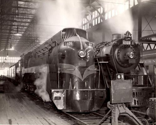 Glory Days Back when trains really were cool\u2026 Grand Trunk Western