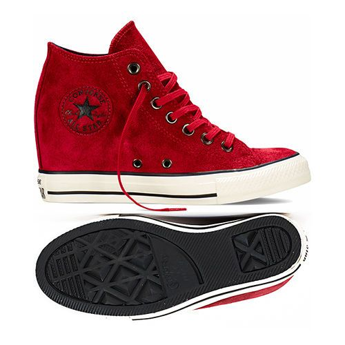 red converse wedges - 51% OFF - roade