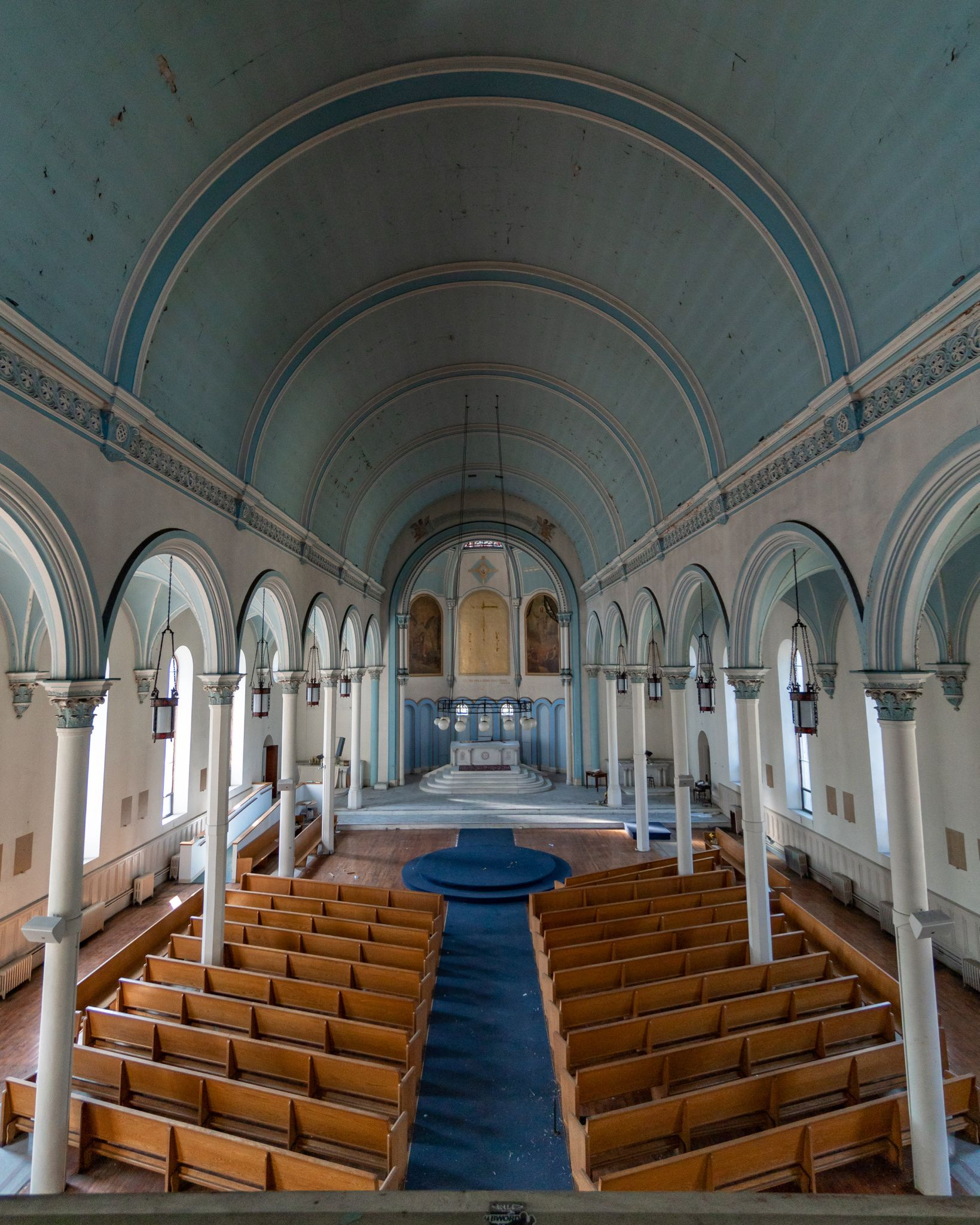 Pin By Katie On Abandoned Churches Of The East Coast