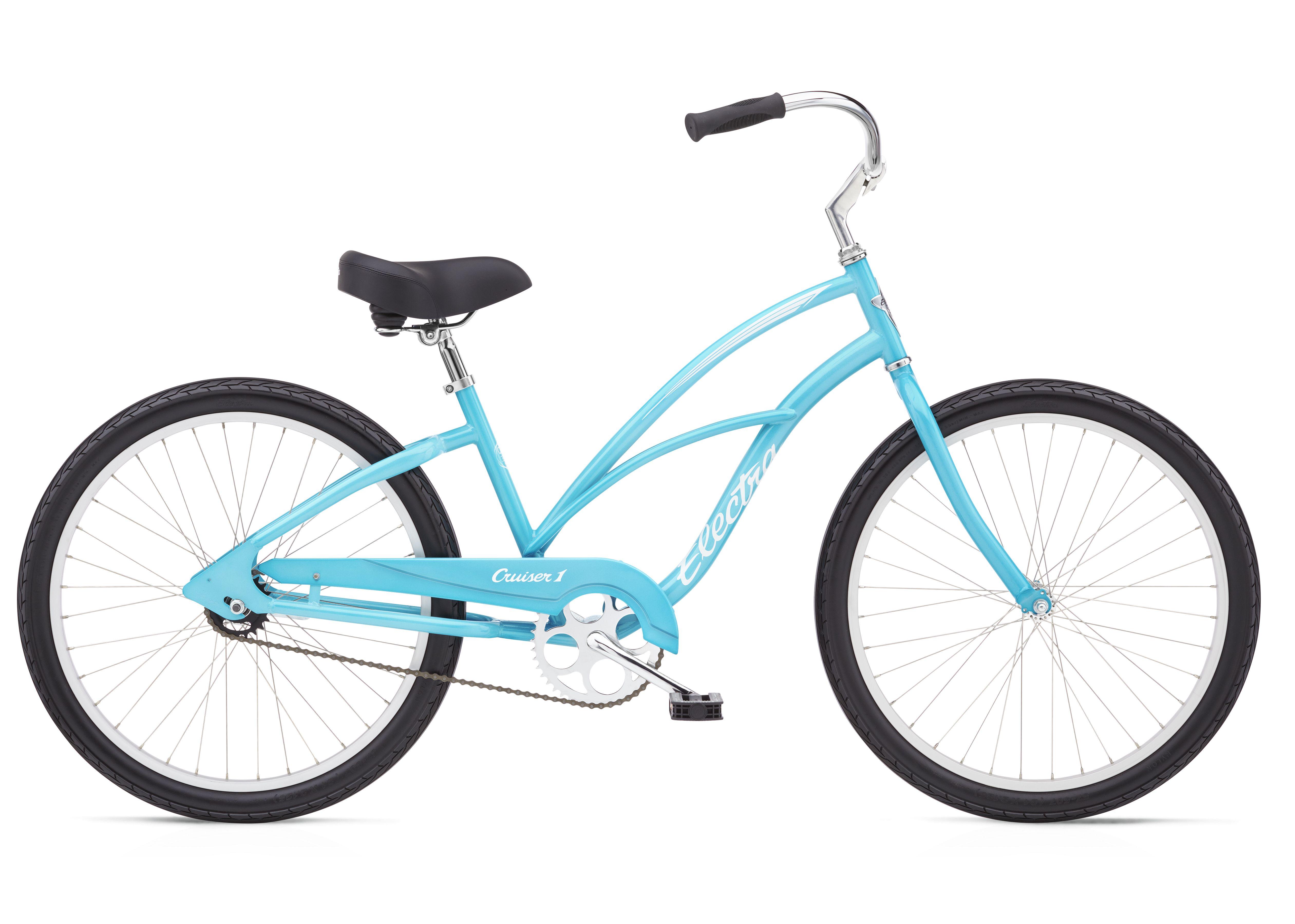 Electra Ladies Cruiser 1 24in In Bora Bora Blue In 2020 Electra Bike Cruiser Bike Beach Cruiser