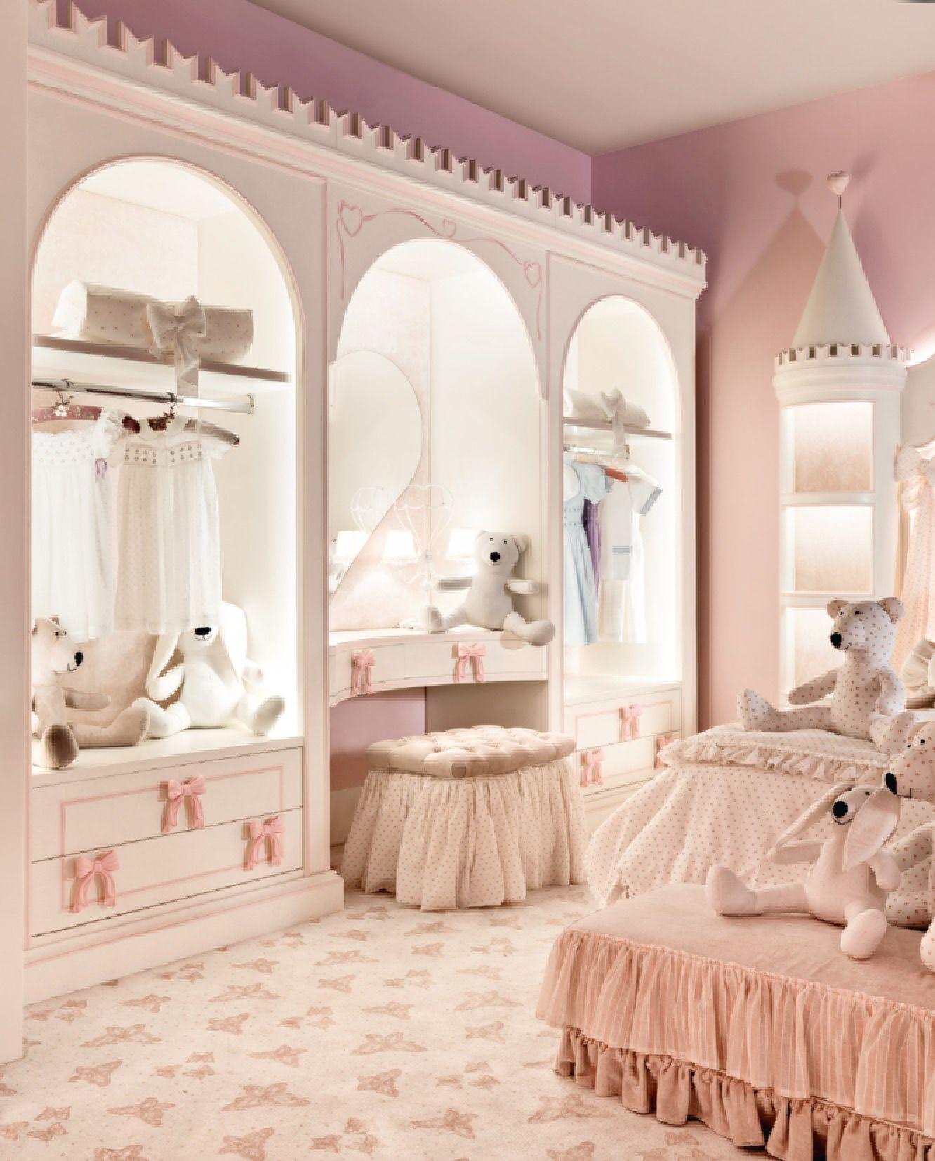 Very practical yet very cute | Pink bedroom decor ...