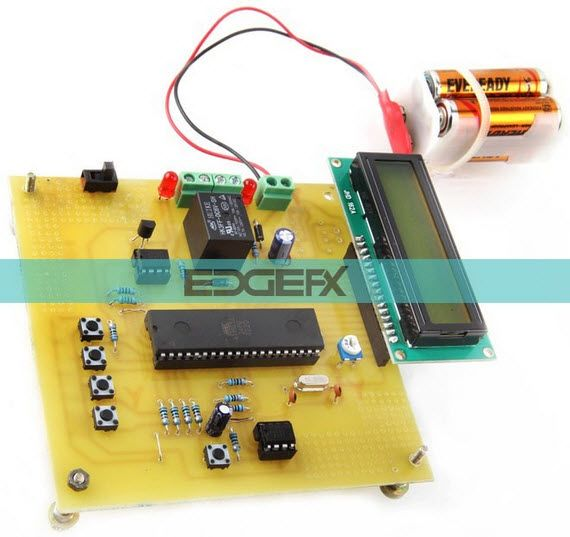 programmable digital temperature controller circuit by edgefxkits com