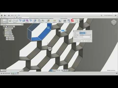 Fusion 360 Honeycomb - YouTube | Fusion 360/ Solidworks