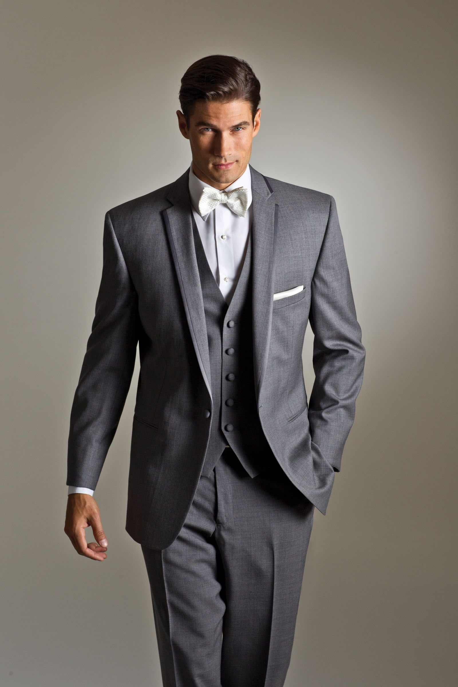 SAVVI - Style Grey Kristoff by Savvi Black Label, Luxury wool 1 ...