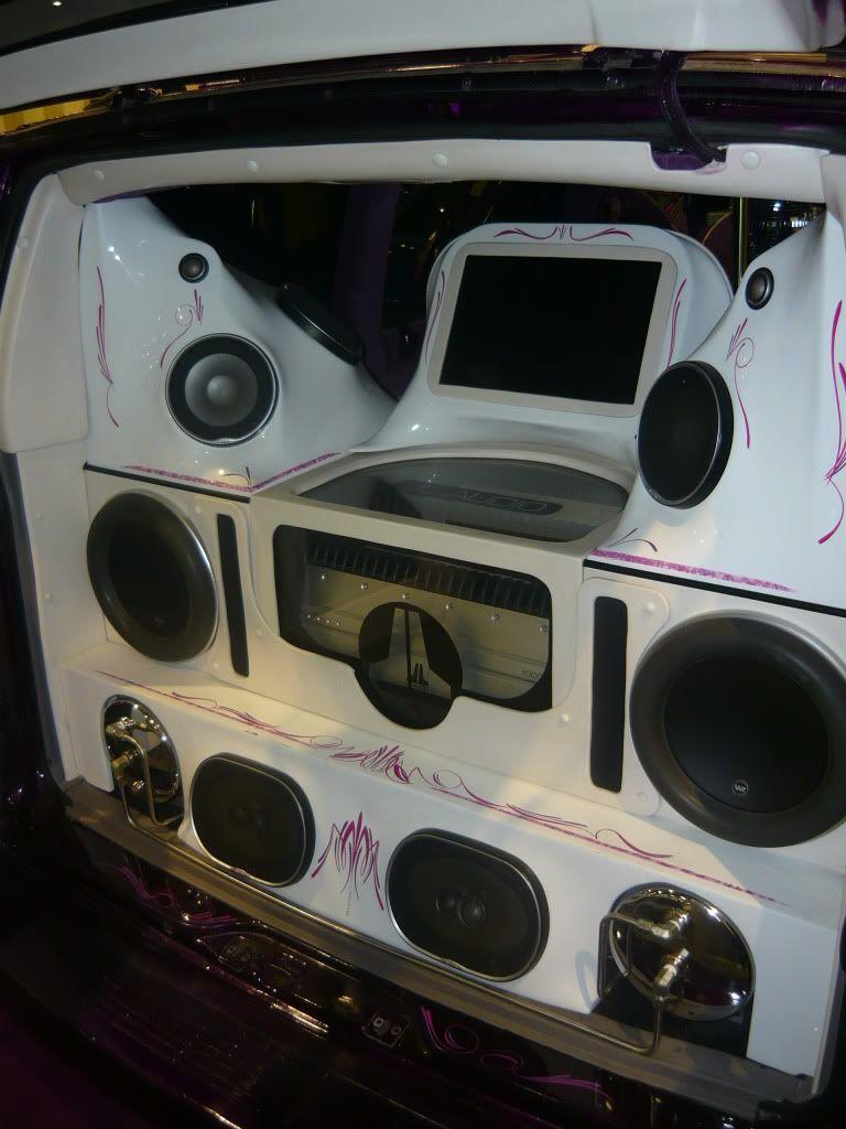Car audio installation, Custom car