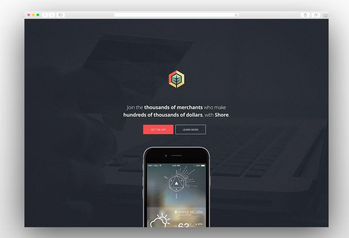 30+ Best Landing Page WordPress Themes 2017 | Landing Page Themes ...