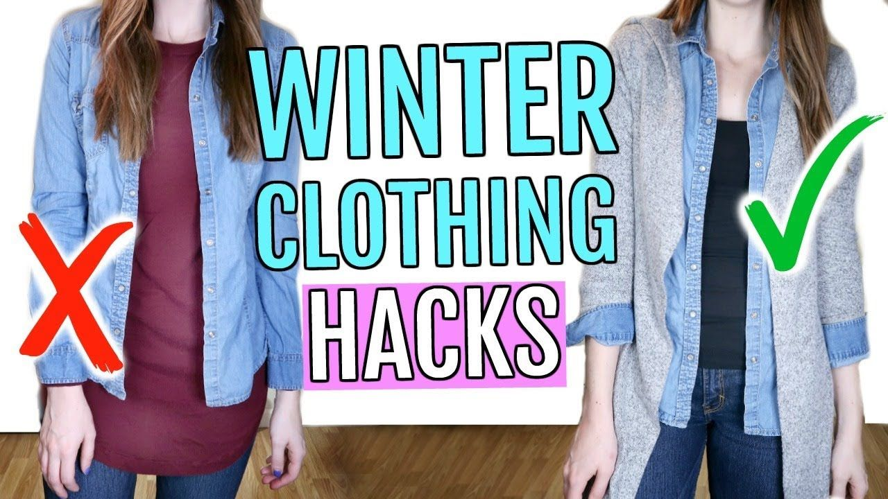 Winter Clothing Hacks You Need to Know - YouTube ...