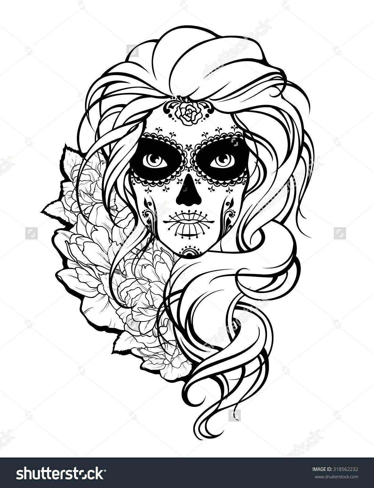 Pin de Dusty en skulls | Pinterest | Princesa de disney, Dia de las ...