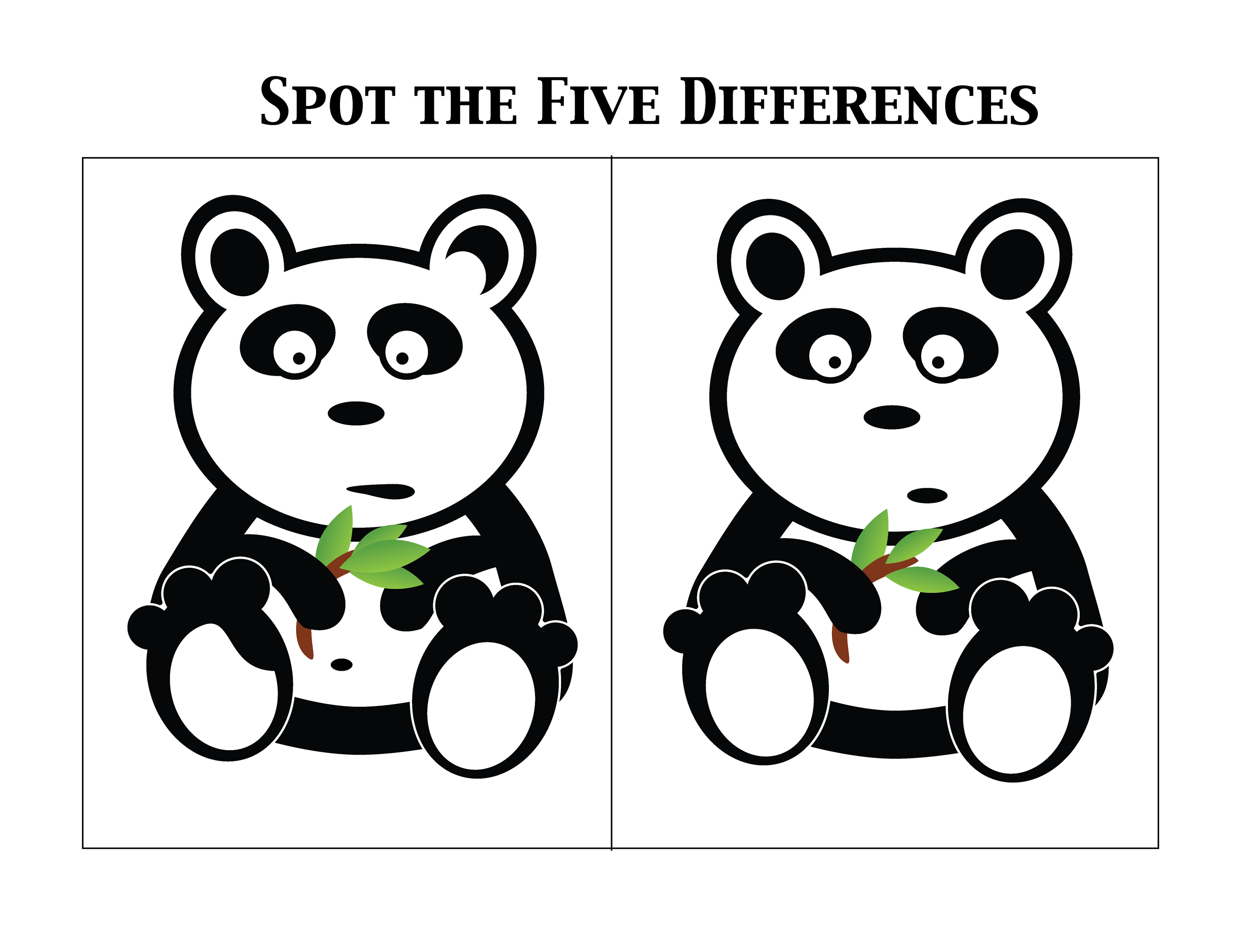 Spot The Difference Worksheets With Images