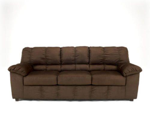 Chocolate Micro Fiber Sofa At Menards