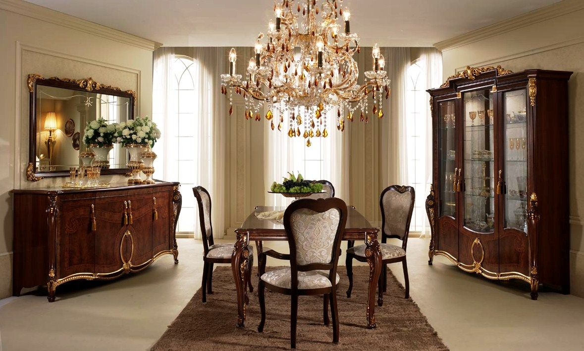 Wonderfully Attractive Traditional Dining Room Idea  Home Designs Enchanting Classic Dining Rooms Inspiration Design