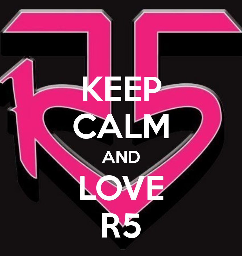I Love A Picture Of A Heart That Says R5