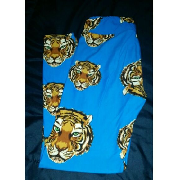 e0921e940bfd36 Lularoe Tiger Leggings Tiger Lularoe Leggings LuLaRoe Pants Leggings ...
