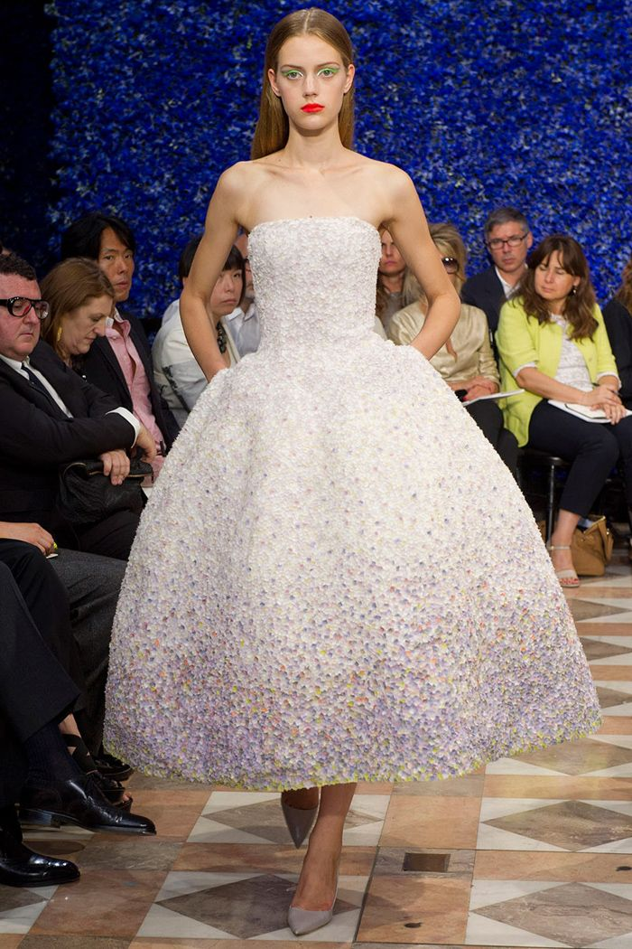 I love this Dior dress - the fabric and detailing is so pretty and the shape is perfect #TopshopPromQueen