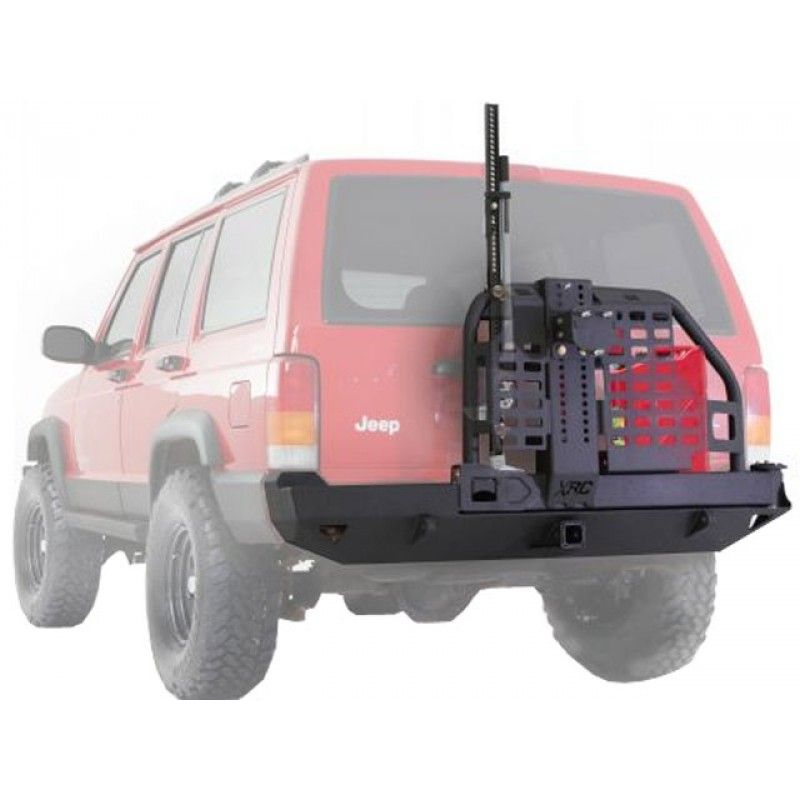 Smittybilt Heavy Duty Xrc Rear Bumper With Hitch Tire Carrier