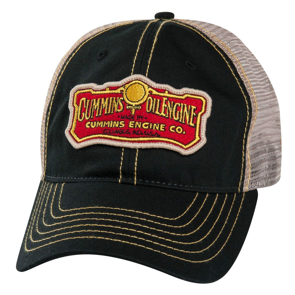 Dodge Ram Cummins Engine Co Diesel Vintage Trucker Mesh Cap Hat  Trucker dc02ae63a778