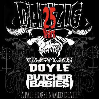 Danzig With Doyle The Warfield 10 31 13 7 00 Pm Butcher Babies Danzig The Agonist