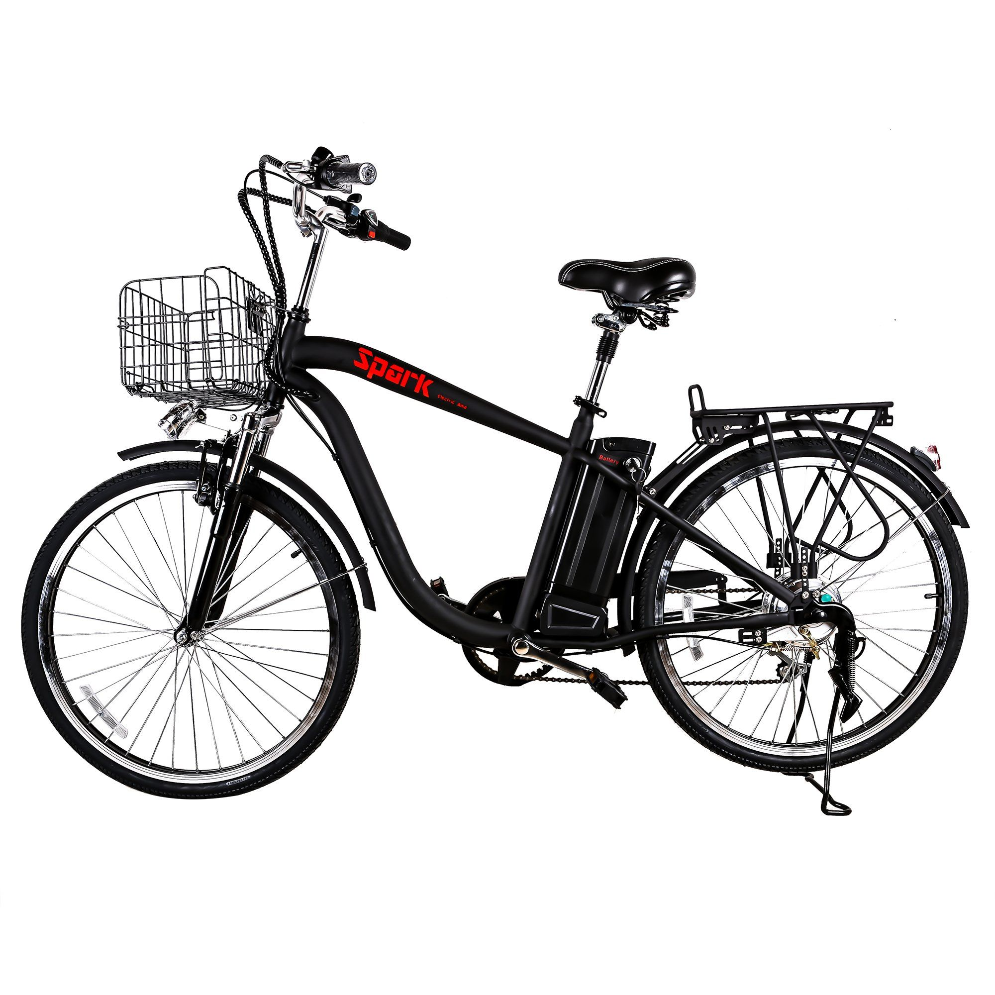 nakto spark 26 city electric bicycle ebike with 36v 10ah lithium 36 Volt Battery nakto spark 26 city electric bicycle ebike with 36v 10ah lithium battery for men black