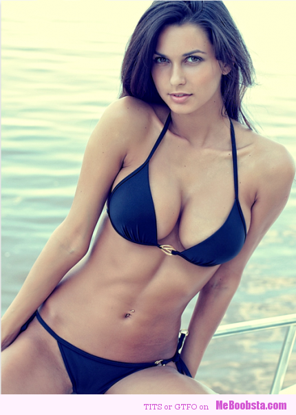 Hot Brunettes In Bikinis
