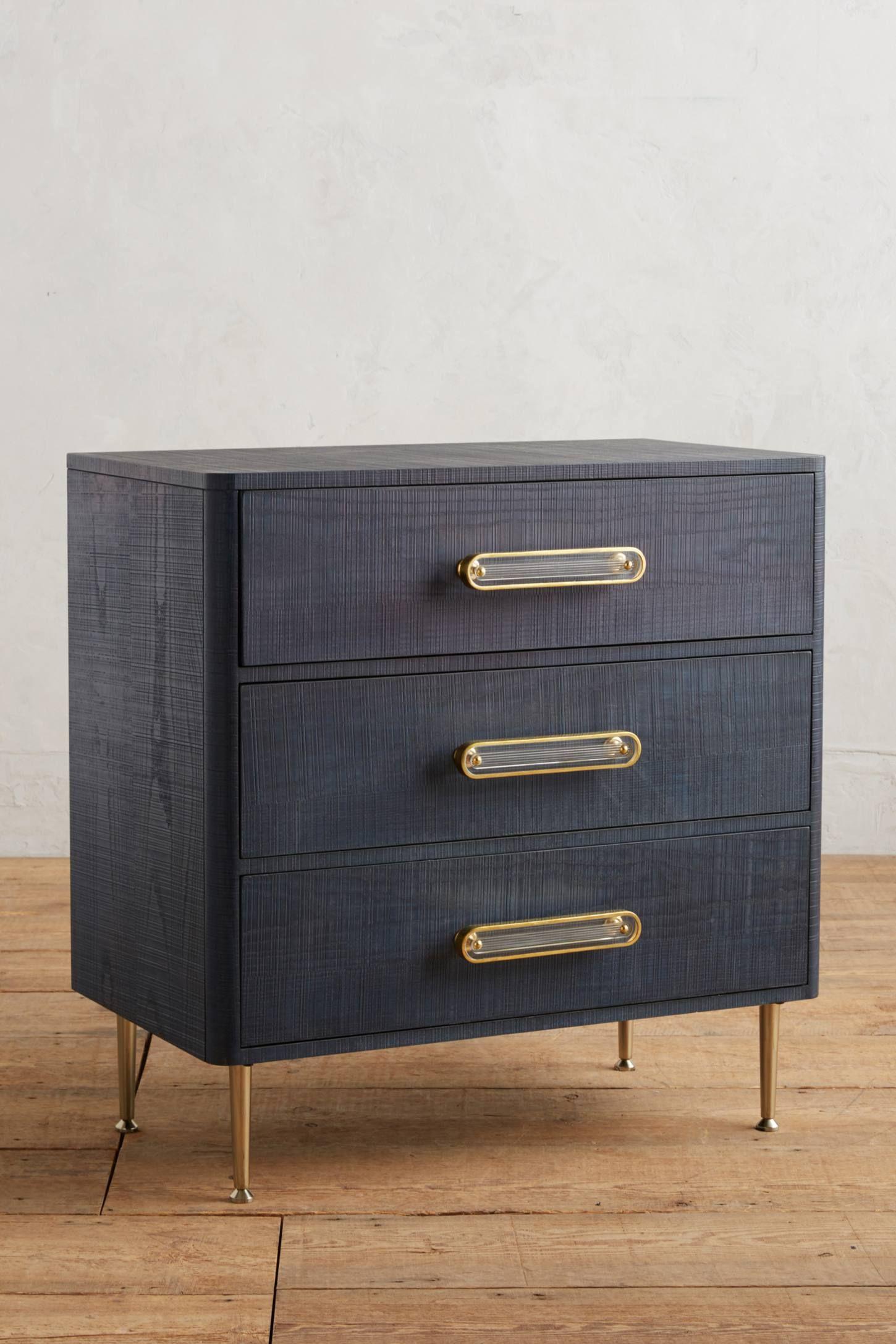 Odetta ThreeDrawer Dresser in 2020 Three drawer dresser