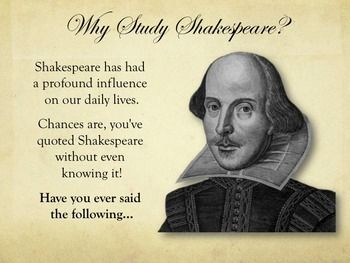 an introduction to the literature and life by william shakespeare William's father, john shakespeare, was a member of the borough council of stratford-upon-avon william was the third of eight children, though his two elder siblings did not survive childhood.