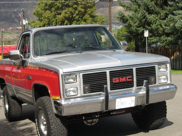 1985 Gmc Sierra Gmc Trucks Gmc Gmc Suv