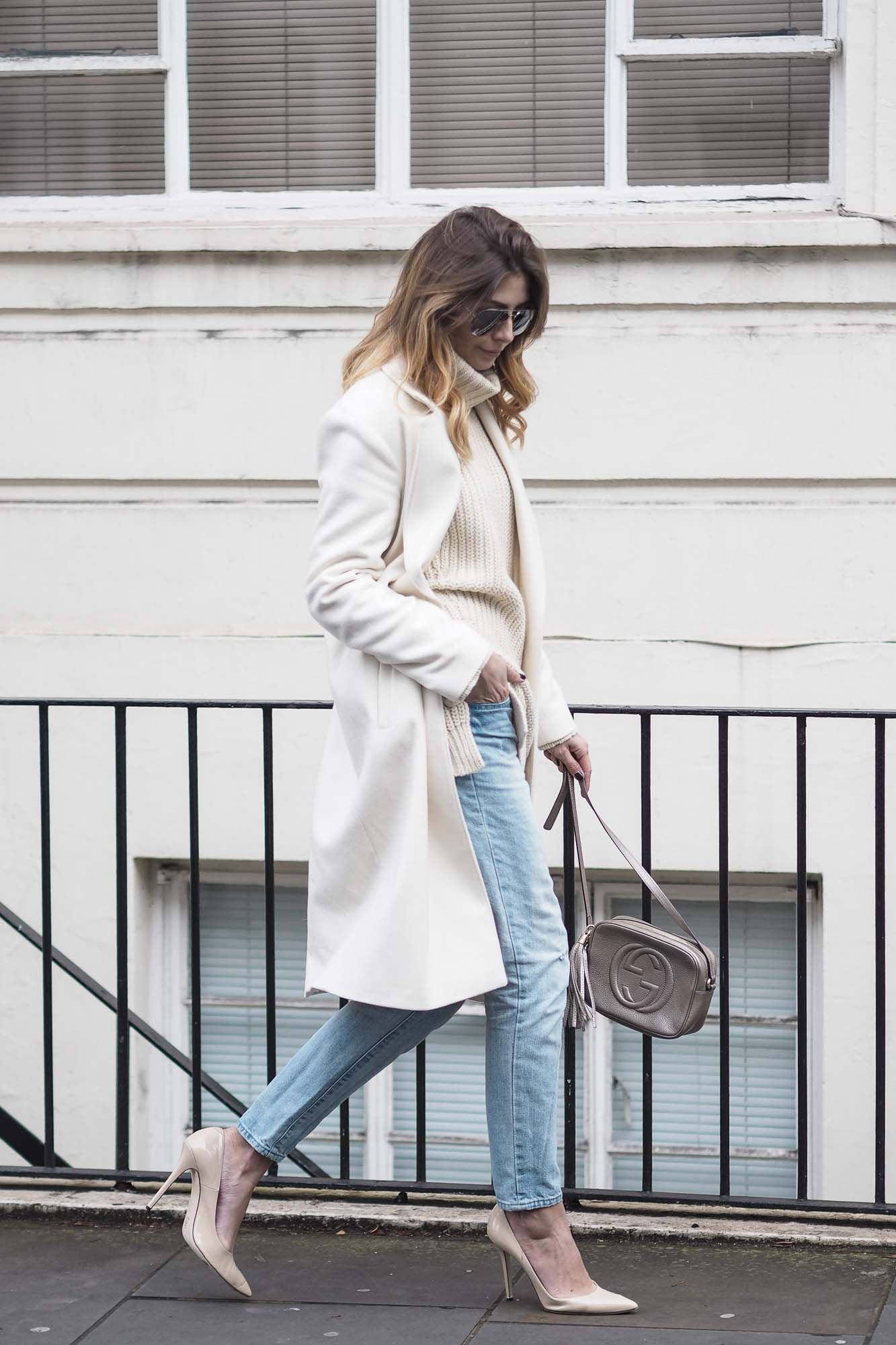 Styling Neutrals In Winter Ej Style Street Style Chic Style Fashion [ 2000 x 1333 Pixel ]