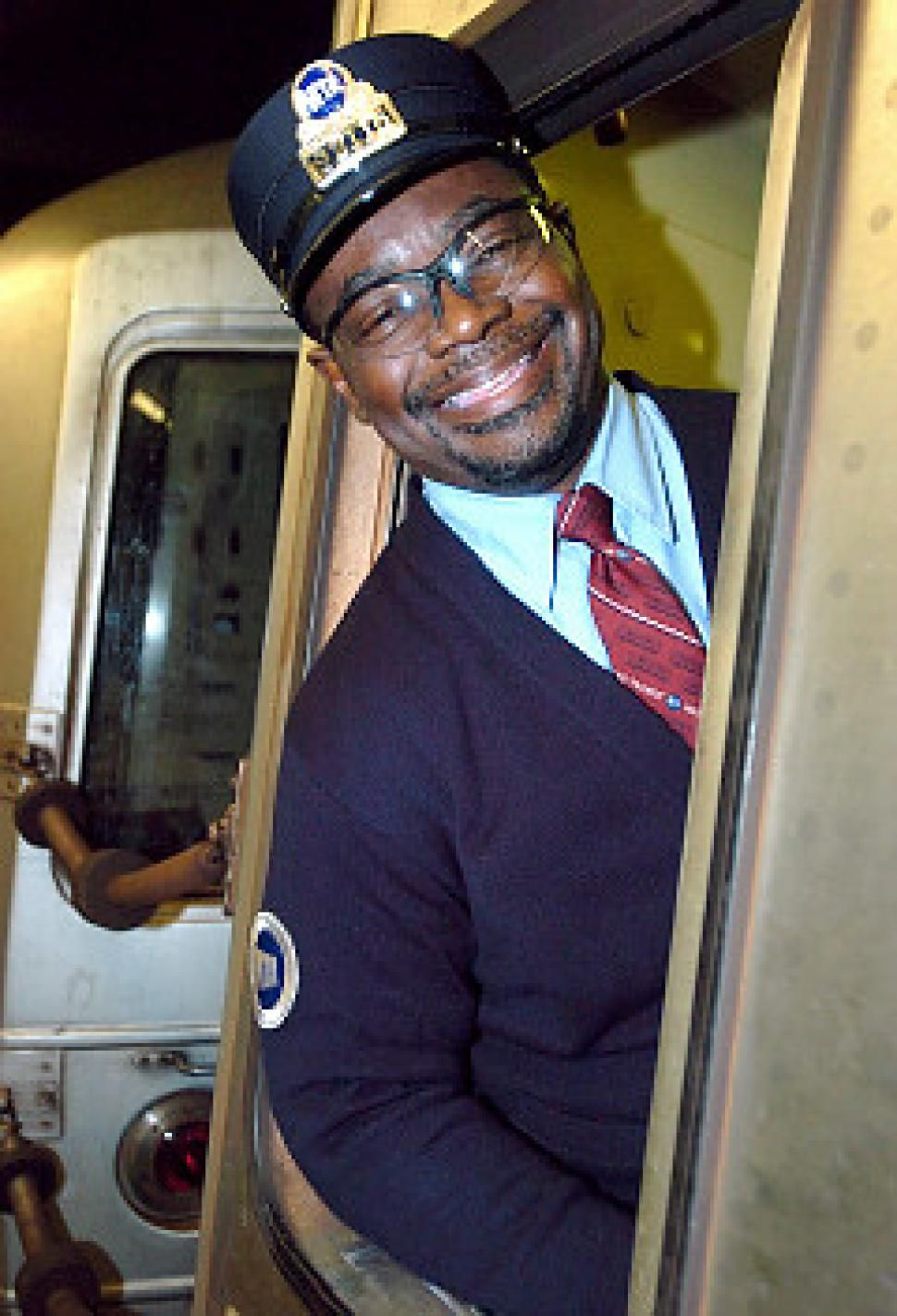 Vintage Subway Conductor's Outfit- Halloween inspiration