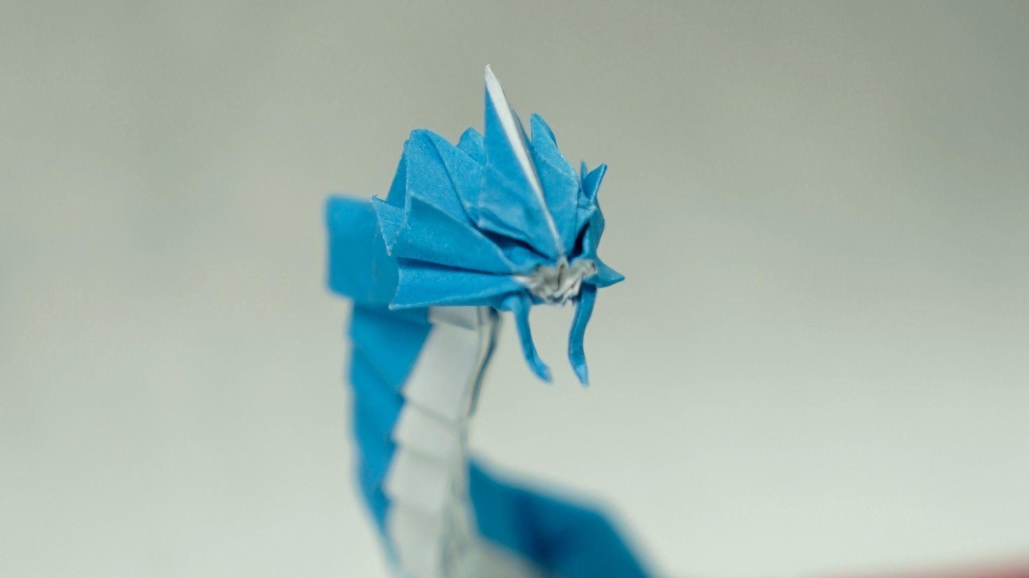 POKEMON GO - Origami Gyarados tutorial (Henry Phạm)   I ... - photo#12