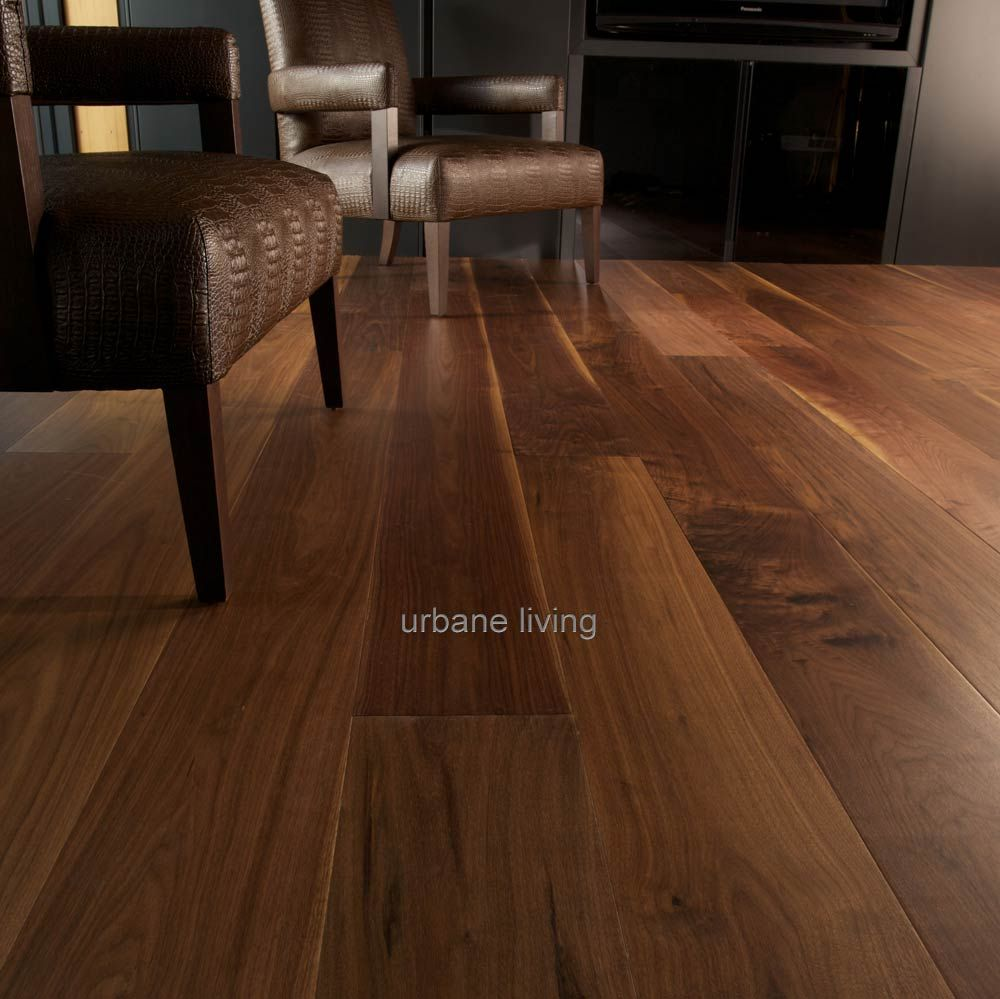 American Walnut Flooring | Urbane Living