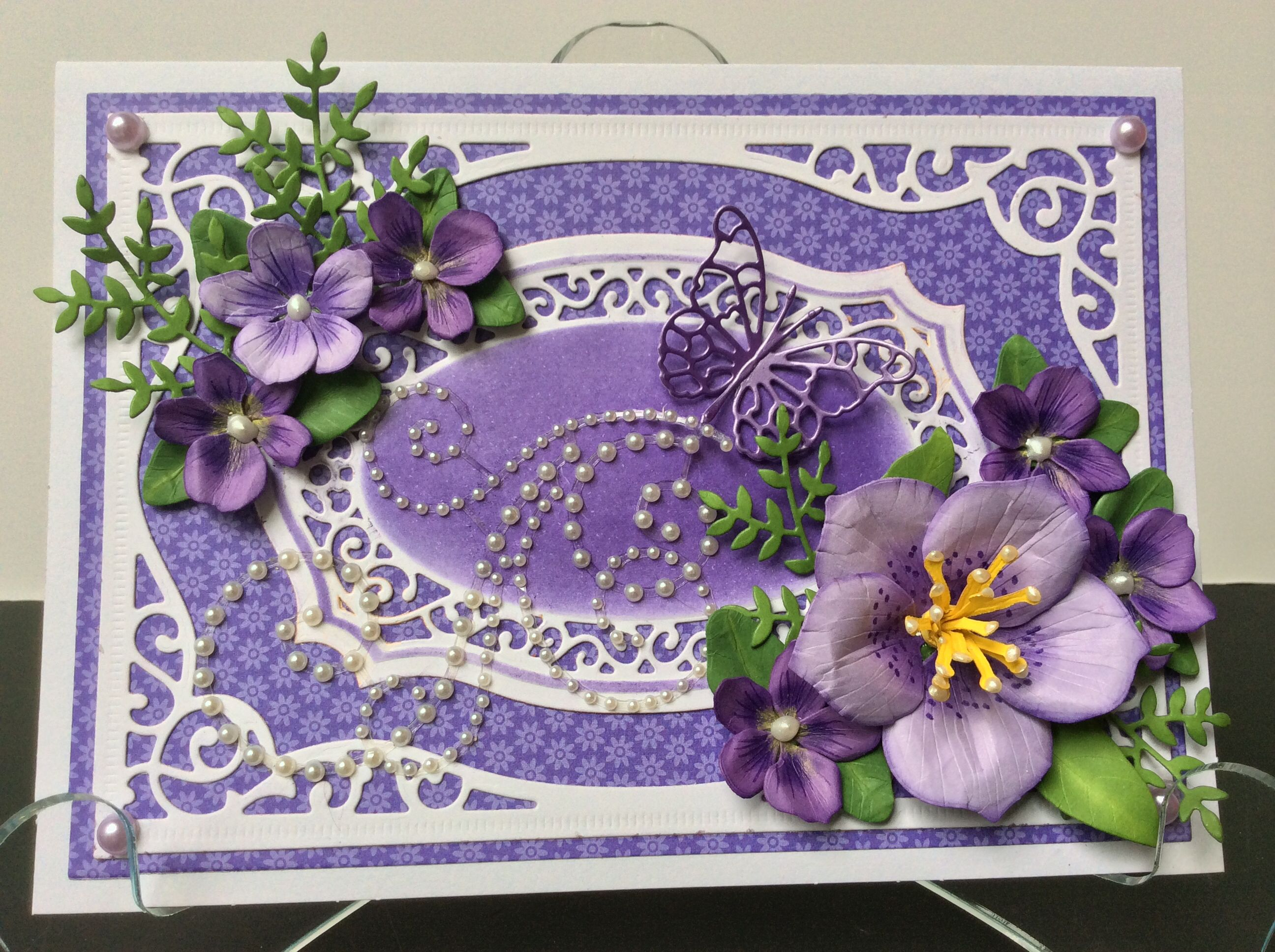 Made with spellbinders majestic labels 25 and susans garden flower made with spellbinders majestic labels 25 and susans garden flower dies from sizzix my own home made cards pinterest cards spellbinders cards and m4hsunfo