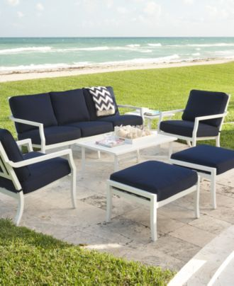 Oceanside Outdoor Patio Furniture Collection Sets U0026 Pieces   Outdoor U0026 Patio  Collections   Furniture   Macyu0027s