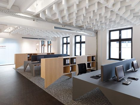 Alexander Fehre Designed Movet Office Loft For Manufacturer Movet