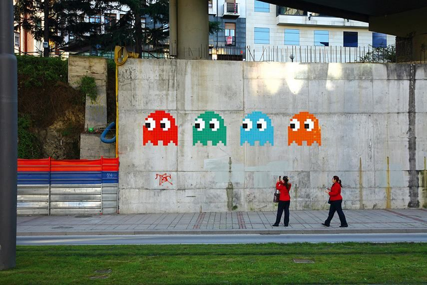 INVADER: WIPE OUT AT HOCA http://www.widewalls.ch/invader-wipe-out-at-hoca-hong-kong/ #exhibition #street #art #HongKong