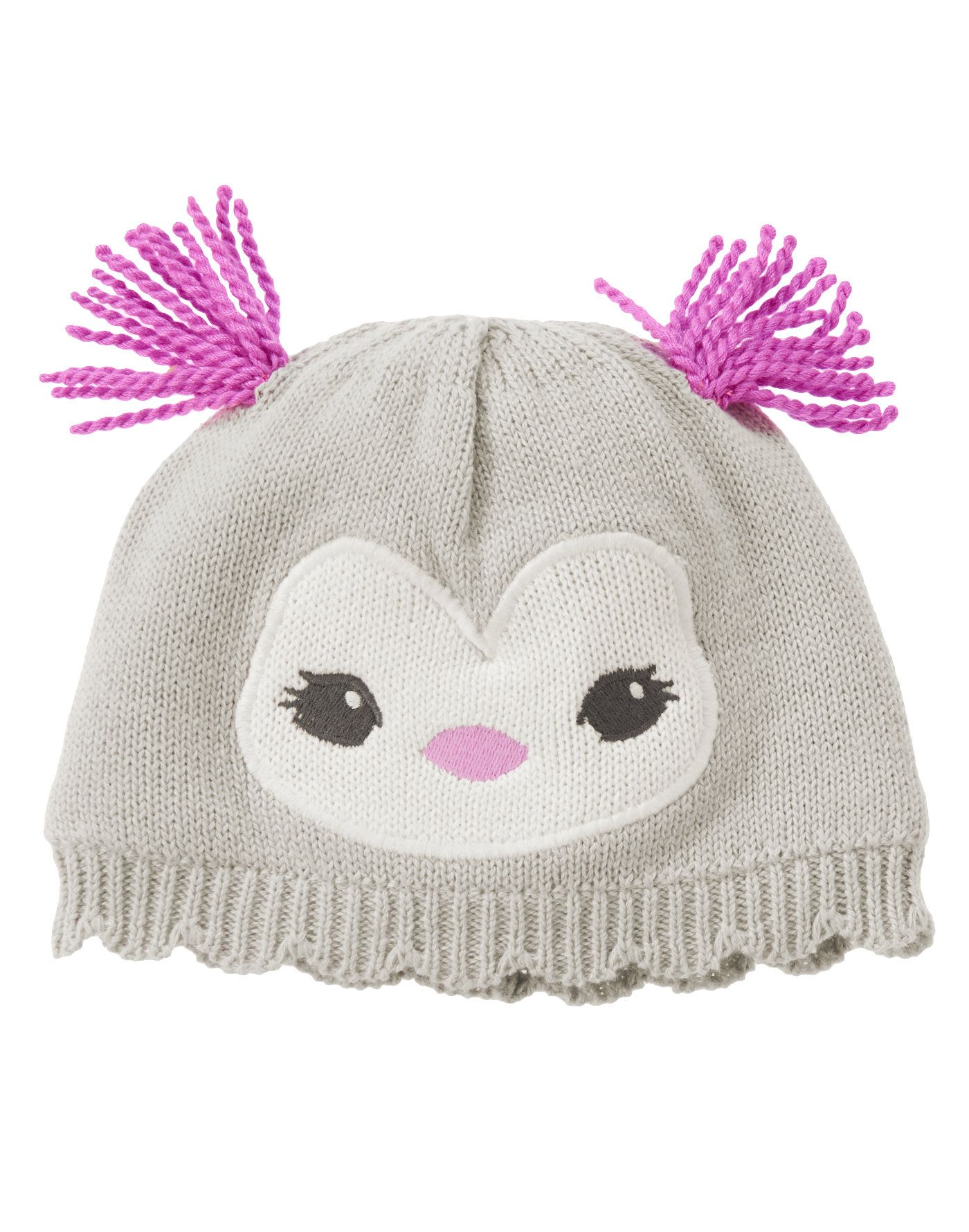 6445631f971 Penguin Pom-Pom Hat at Gymboree