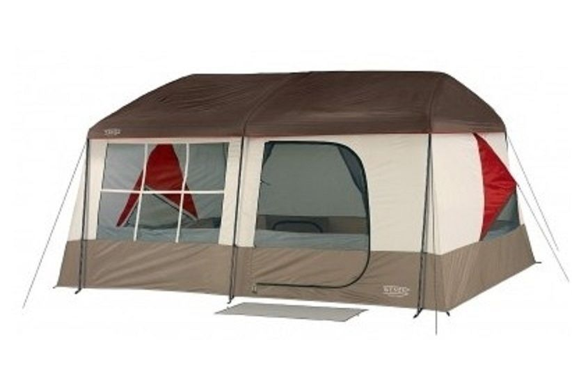 Family Cabin Tent 2 Room Divider C&ing Gear Sleeps 9 Vacation Trip Window Vent #Kodiak  sc 1 st  Pinterest & Family Cabin Tent 2 Room Divider Camping Gear Sleeps 9 Vacation ...