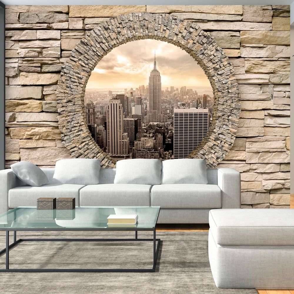 Papier Peint Gp Decor Papier Peint Hidden City Background In 2019 Wall Murals