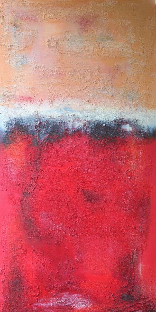 Bright Red #AbstrakteKunst #AbstrakteMalerei #Abstract #Art #painting #art #artist #kunst #künstler #fineart #artwork #modernabstract #expressionism #contemporaryart #expressionismus #farbfeldmalerei #rothko