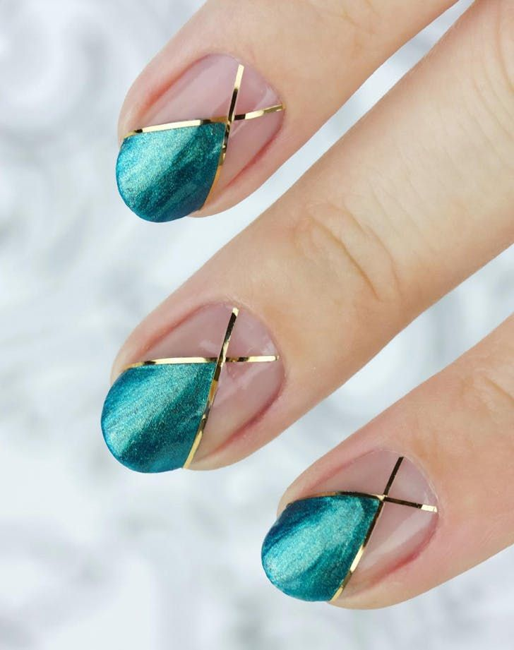 The Best Holiday Manicure Trends Nail Art Ideas Purewow Nails