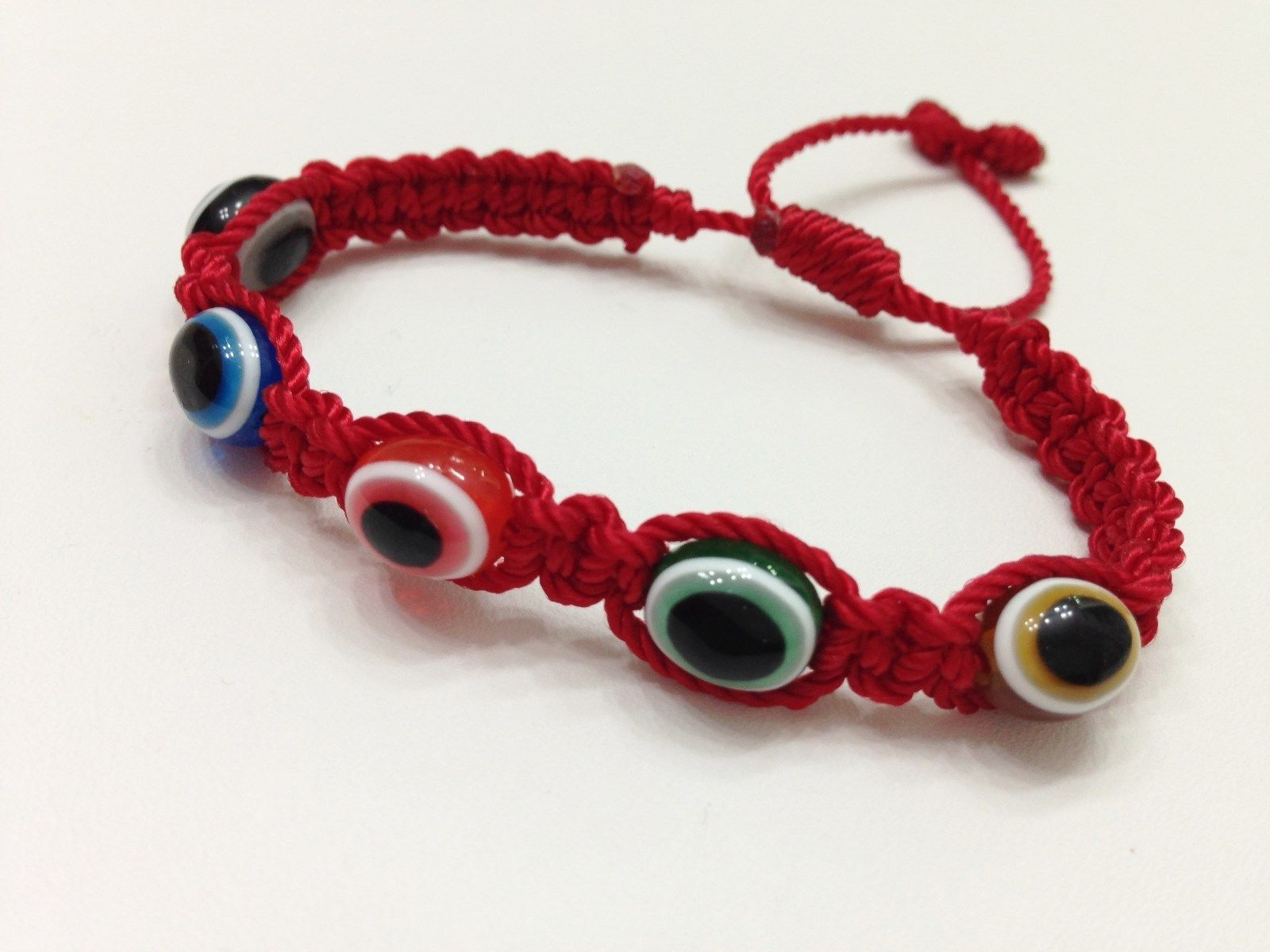 Evil Eye Bracelet Pulsera Roja Para El Mal De Ojo Potente Amuleto Hecha A Mano Woven Handmade Crafts