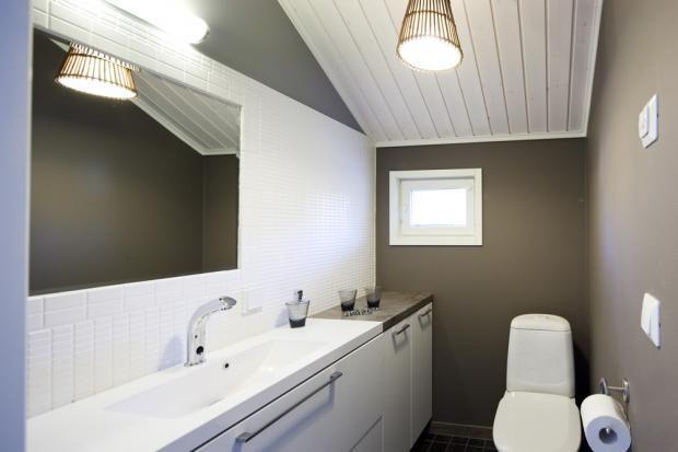 Talo Honkonen - Yläkerran WC | Asuntomessut