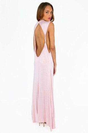 All Twisted Maxi Dress $29 at www.tobi.com
