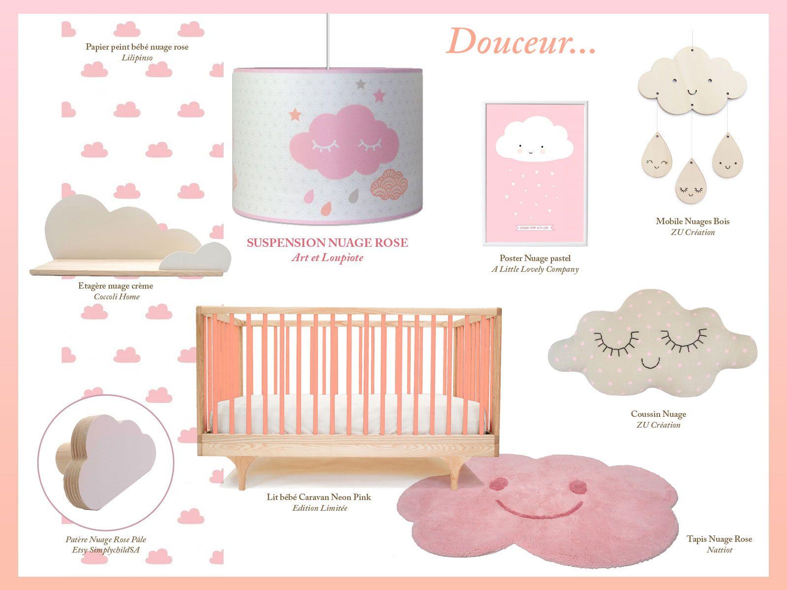 Tr¨s jolie luminaire suspension pour chambre de bébé fille