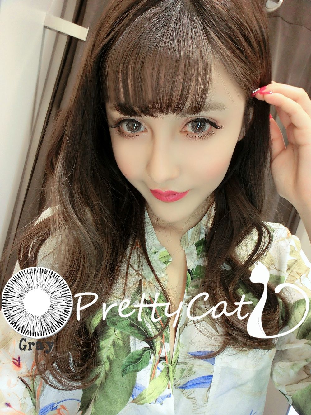 Cosmetic Colored Contact Lenses Cosplay Costume Party Cat S Eye