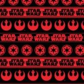 Camelot Cottons - Star Wars Red Rebel & Imperial Logos
