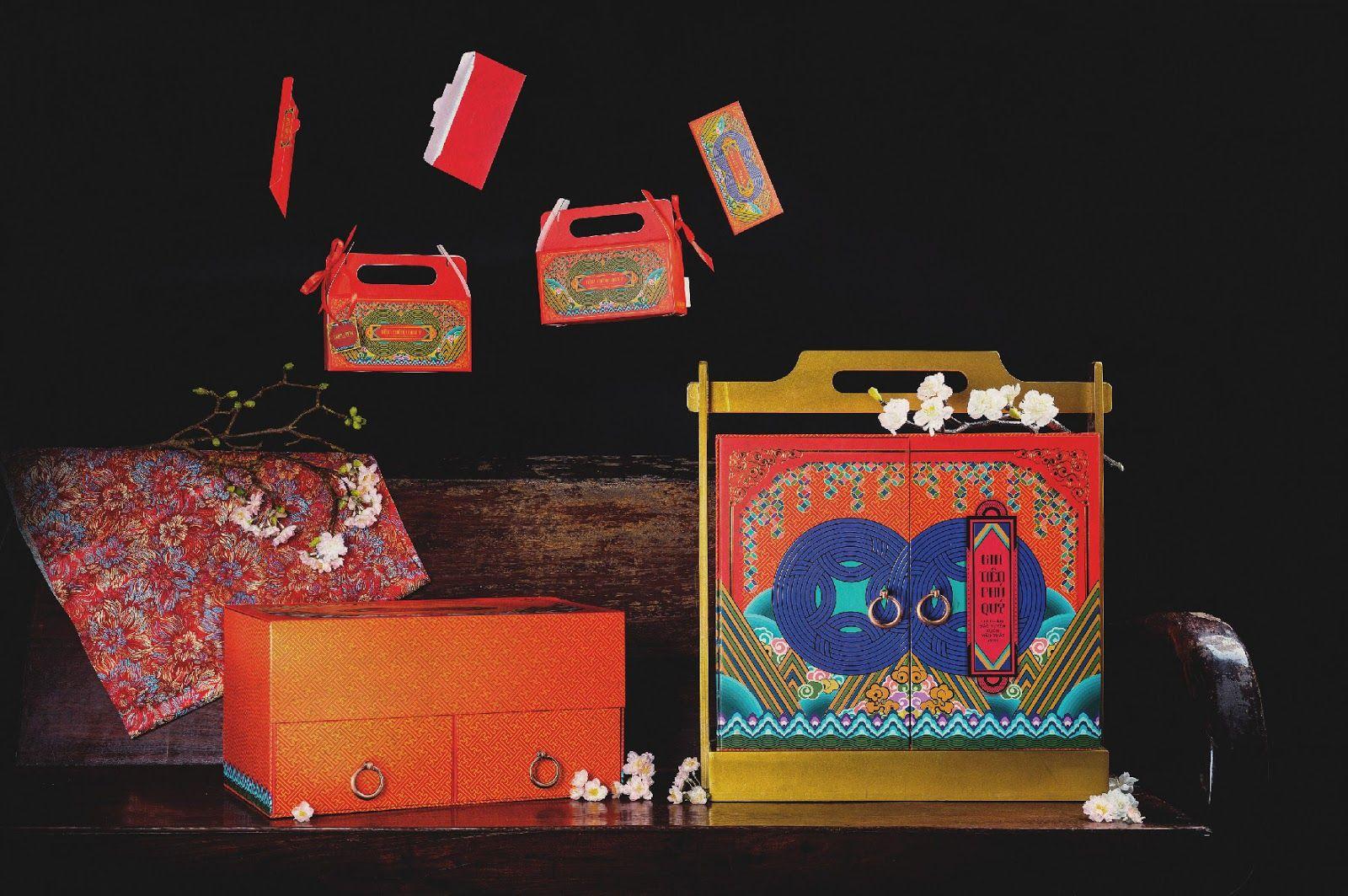 Tet Gift Box 2018 Creative Packaging Design Packaging Design Inspiration Packaging Design